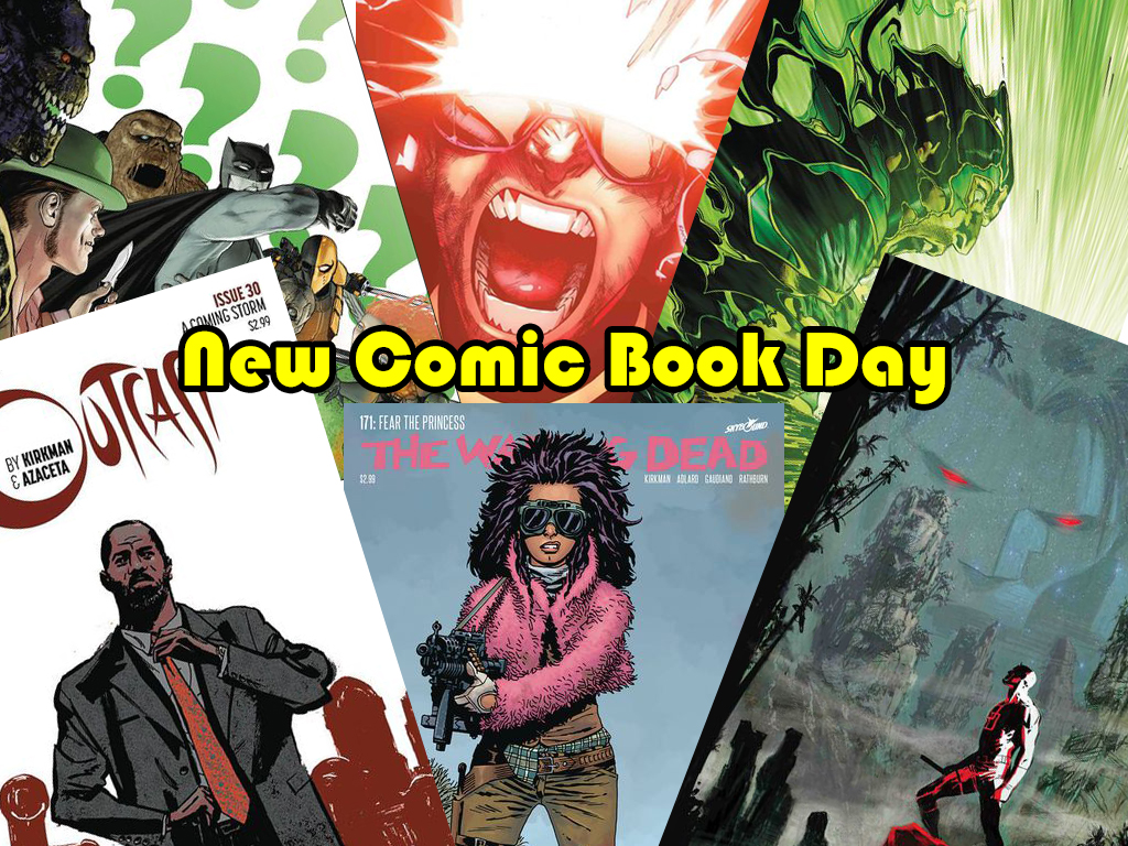 New Comic Book Day picks this week